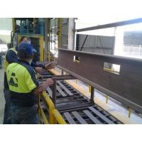 Buy cheap Roller Conveyor Shot Blasting Machines from wholesalers