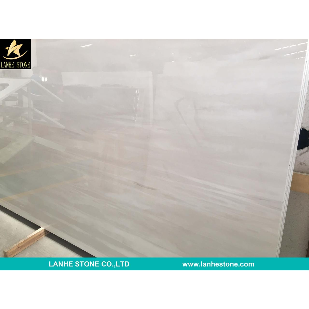 Buy cheap White Wood Nano Micro Crystallized Stone Slab China White Micro Crystal Glass Stone Slabs Tiles product