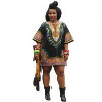 Buy cheap Sales Promotion Polyester Dashiki Shirt with Pockets 21422-6 product