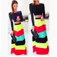 Buy cheap Multi-Colored Maxi Skirts 21439-1 from wholesalers