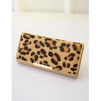 Buy cheap Leopard Printed Clutch Bag With Metal Bar from wholesalers