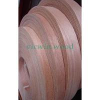 Buy cheap Okoume Veneer Edge banding(tape veneer rolls) from wholesalers
