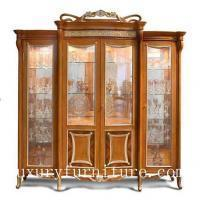 Buy cheap China cabinet displays wall mount cabinet antique china cabinet decoration cabinet FJ-128C from wholesalers