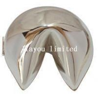 Buy cheap TBP0886-fortune cookie silver jewelry trinket box from wholesalers