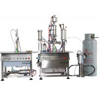 Buy cheap Bag On Valve Aerosol Filling Machine 1600G from wholesalers