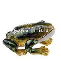 Buy cheap TBP0240-frog figurines tabletop from wholesalers