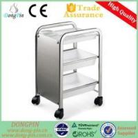 Buy cheap Trolley&Cabinet DP-5101 strong plastic trolley cart for hair salon from wholesalers