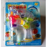 Buy cheap child toys New arrival 1229 electric flash turtle bubble gun bubble gun yiw from wholesalers