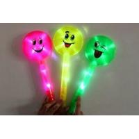 Buy cheap child toys 1177 Large smiley flash stick glow stick neon stick decoration p from wholesalers