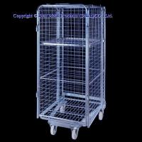 Buy cheap Roll container 4-side roll pallet from wholesalers