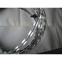 Buy cheap galvanized razor barbed iron wire from wholesalers