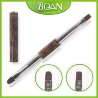 Buy cheap BQAN 2 Sides Marble Pattern Metal Gel Brush Nail Gel Oval Tip French Nail Brush from wholesalers