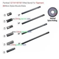 Buy cheap Paintball-12-inch-14-16-18-Rifled-Barrel-For-Tippmann-98-Muzzle-Brake product