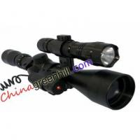 Buy cheap Tasco 3-9 40 Rifle Scope and red laser with 501B Flash Torch from wholesalers