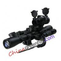 Buy cheap Rifle Scope Red Dot Green Laser Flashlight All in 1 from wholesalers