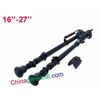 Buy cheap Tactical 16 -27 Adjustable Bipod Display Rifle Spring Loaded Legs Hunting from wholesalers