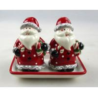 Buy cheap Xmas Snowman Ceramic Xmas Santa Claus S+P+Holder DK23008 from wholesalers