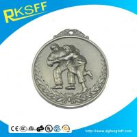 Buy cheap Zinc Alloy Wrestling Silver Medals product