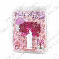 Buy cheap Magic Mystery Paper Magic growing Sakura with white paper from wholesalers