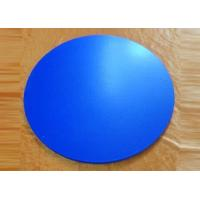 Buy cheap Colorful glazed round pizza stone from wholesalers