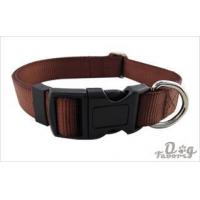 Buy cheap Nylon Dog Collar and Leash Set, Brown in S from wholesalers