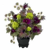 Buy cheap Morning Glory & Hydrangea Silk Flower Arrangement NN1259 from wholesalers
