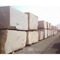 China Iran White Travertine Block on sale