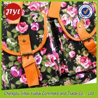 Buy cheap Vintage Flower Printed Canvas Backpack for Daily Outdoor BCP004 from wholesalers