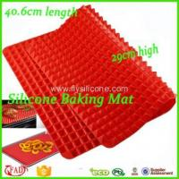 Buy cheap Silicone mat Pyramid Shape Non-stick Silicone Baking Mat Set from wholesalers