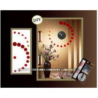 Buy cheap Item no.112714 DIY Wall Sticker Clock from wholesalers