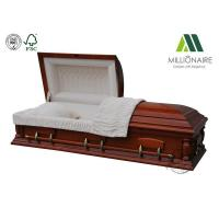 Buy cheap Wood Caskets #028 Cherry Wood Natural Cherry Color Gloss Product number: 121 from wholesalers
