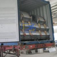 Buy cheap The corrugated steel culvert pipe in cotaniner ready for ship from Wholesalers