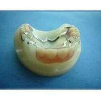 Buy cheap Metal frame work & Completely denture Steel frame work with denture from wholesalers