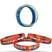 Buy cheap Wide selection of colours Silicone Bracelts from wholesalers