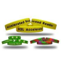 Buy cheap Yellow Silicone Bracelts from wholesalers