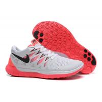 Buy cheap Nike Free 5.0+ 2014 Womens Light Gray Pink Running Shoe from wholesalers