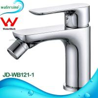 Buy cheap Newest Design High Quality Single Lever Chrome Plating Brass Basin Mixer JD-WB121-1 from wholesalers