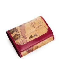 Buy cheap Traveler Series Map Leather Women Short Wallet from wholesalers