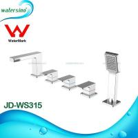 5-hole deck mounted hot and cold bathtub mixer JD-WS315