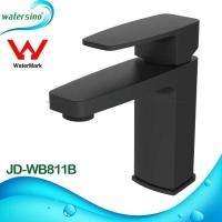 Buy cheap lavatory faucet brass black plated basin mixer tap JD-WB811B product