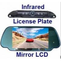 Buy cheap CCD License Plate Mount Camera & TFT LCD Mirror Monitor from wholesalers