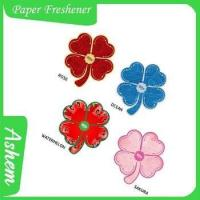 Buy cheap The best selling designer fragrance car air freshener with Logo printing IC-946 from wholesalers