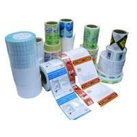 Buy cheap Label Material Classification Copperplate paper stickers from wholesalers