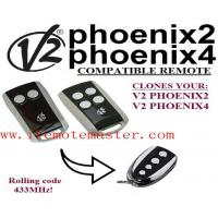 Buy cheap Title:V2 PHOENIX2/4 compatible garage door remote Rolling code 433mhz from wholesalers