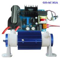 Buy cheap 5G air cooled ozone generator tube with adjustable electric card from wholesalers