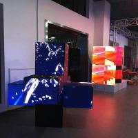 Buy cheap Special shape display screen Square Shape Promotional Exhibition Hanging Sign Display from wholesalers