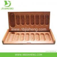 Buy cheap Rectangle Pressed Bamboo Storage Box from wholesalers