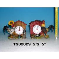 Buy cheap polyresin cock clock from wholesalers
