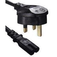 Buy cheap PC136 - IEC320 C7 to UK Plug Mains Lead, 2 Metre from wholesalers
