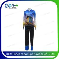 Buy cheap Jackets and tracksuit 100% polyester sports tracksuit for women from wholesalers